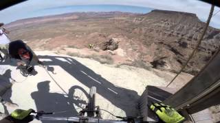Ramon Hunziker's Crash at the Red Bull Rampage 2015
