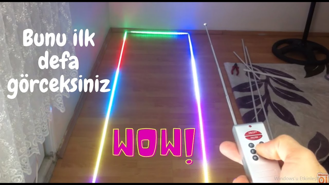 Magic Led Nedir Sihirli Led Nasil Calisir Rgb Magic Led Youtube