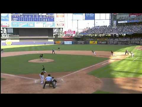 2012/07/01 Brewers walk off on errors