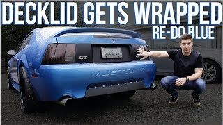 RE-DO BLUE: Decklid Gets Wrapped! | Episode 8