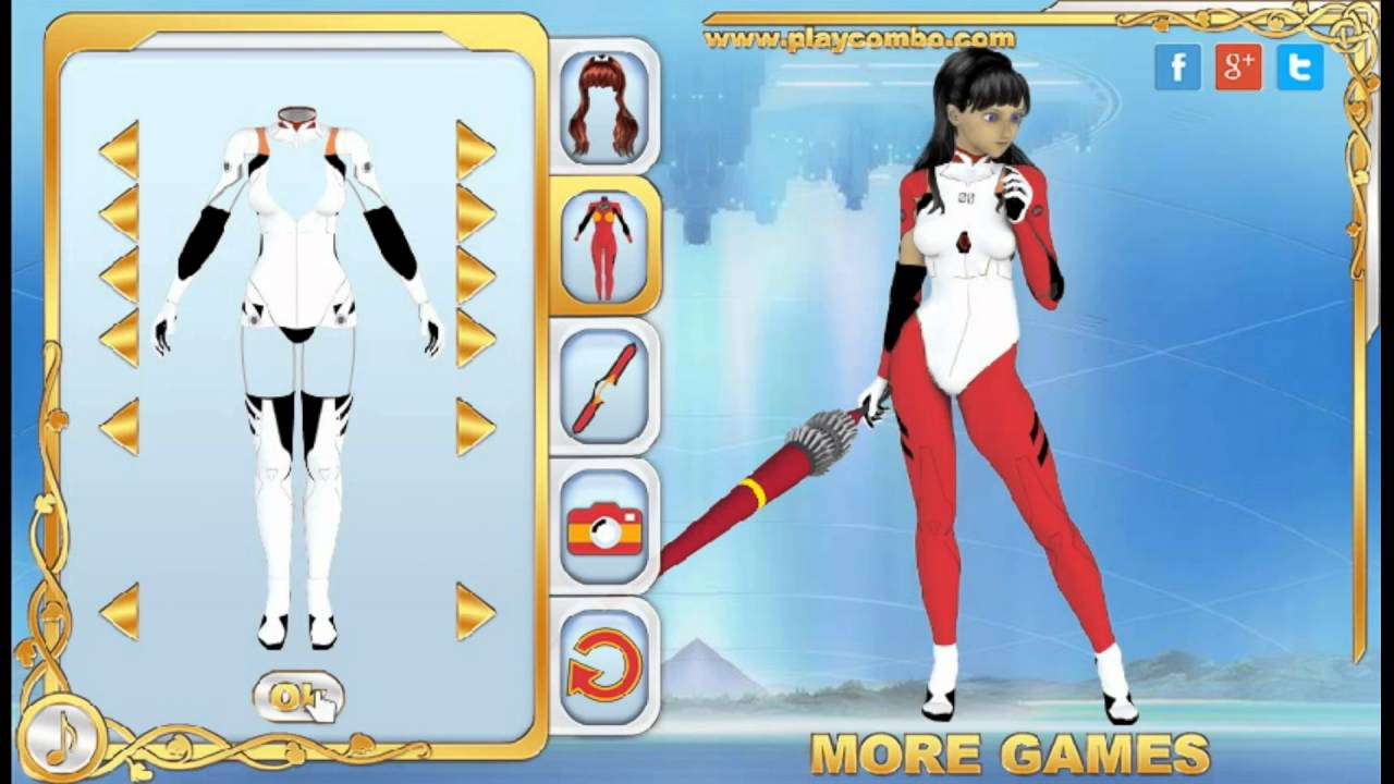 Fnaf dress up game - Evangelion Dress Up Playcombo Games