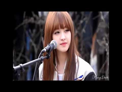 Gái xinh Hàn Quốc vừa đàn vừa hát cực hay