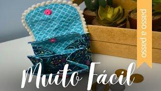 Mini Porta-Moedas