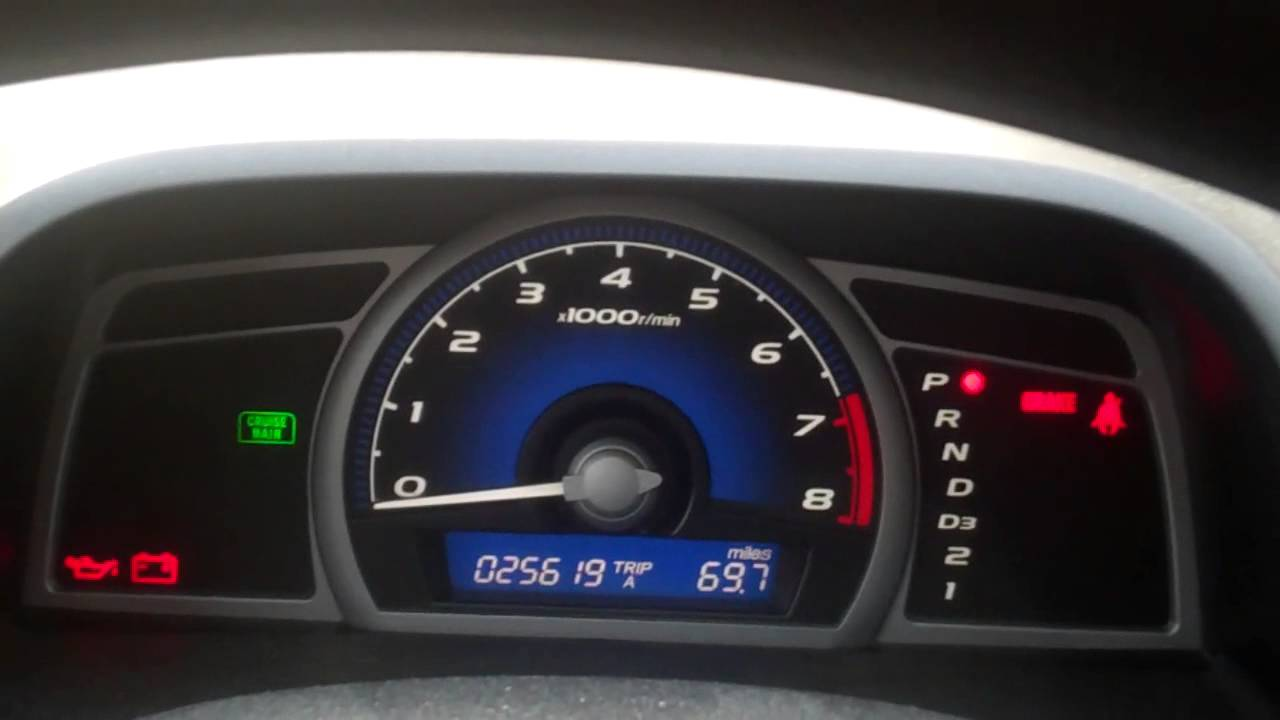 2011 honda civic failing to start turn the key nothing happens  [ 1280 x 720 Pixel ]