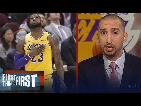 Cris and Nick react to LeBron's return, talk the Warriors losing streak | NBA | FIRST THINGS FIRST