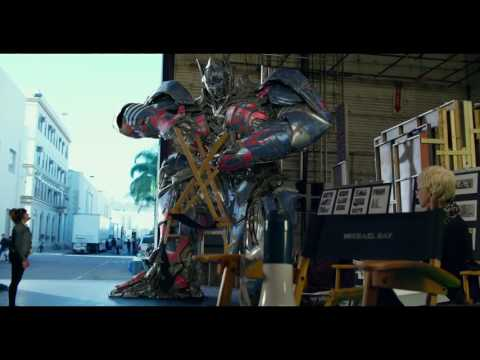 Transformers: The Last Knight - Optimus Prime On Set 'Angry Prime'