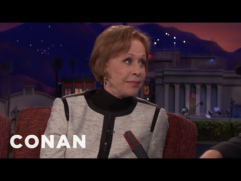 Carol Burnett: I Was Told Comedy Was A Man's Game   CONAN on TBS