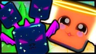 SHINY LUNAR SERPENT LEGENDARY & SHINY CRYSTAL ANGEL | Bubble Gum Simulator Roblox
