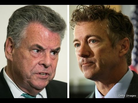 Peter King Disgusting Attack On Rand Paul