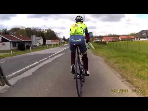 Cycling Training Slovenia-Austria 10.04.2016 (Part.1) Xplore Xcam XP1080