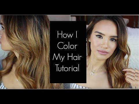 How I Color My Hair! Tutorial
