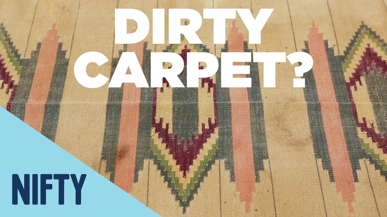 Diy Nontoxic Carpet Cleaning Youtube