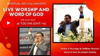 LIVE PRAYER Malayalam | May 29th |  ~Worship & Word of God | Spiritual Revival Ministry UAE Live