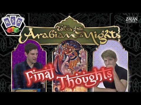 Tales of the Arabian Nights Final thoughts - Ready Steady Play