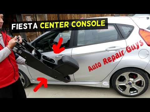 FORD FIESTA CENTER CONSOLE REMOVAL REPLACEMENT ST SE S