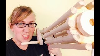Free Gatling Rubber Band Machine Gun Plans - Weekend Project