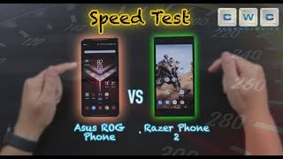 Razer Phone 2 VS ROG Phone Speed Test