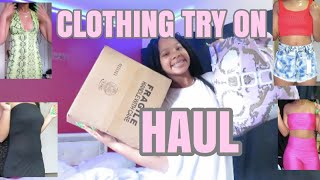 LIT SUMMER CLOTHING TRY ON HAUL!
