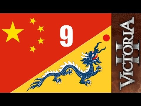 China Dragon 9 - Spheres And Colonization - Victoria 2 HOD