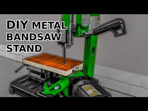 DIY Metal Band Saw Stand Modification