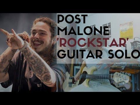 Soloing on Post Malones 'Rockstar'