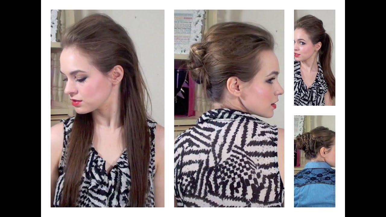 P Nk Hairstyles: 4 Gwen Stefani / P!NK Inspired Styles