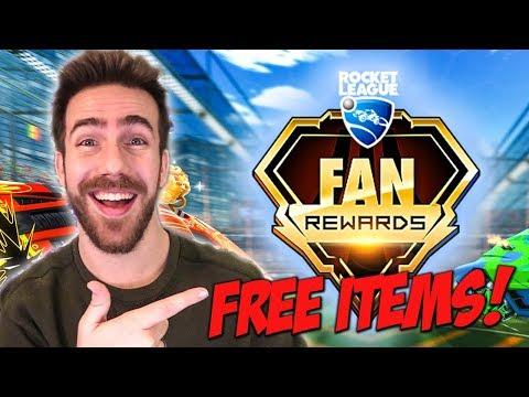 HOW TO GET NEW & FREE ROCKET LEAGUE FAN REWARDS!