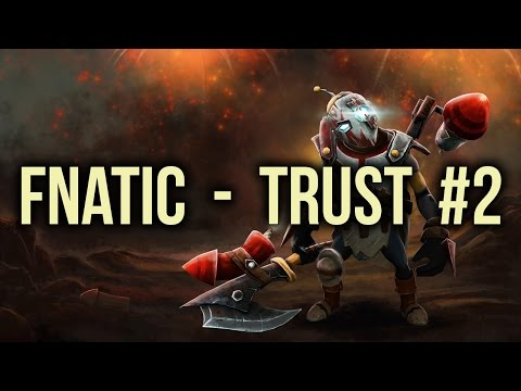Fnatic  vs Trust SEA Shanghai Major Qualifiers Game 2 Dota 2