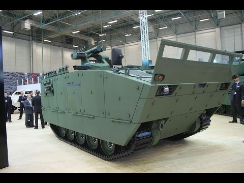 Tulpar-S amphibious tracked armoured vehicle Tulpar AIFV armoured infantry fighting vehicle Otokar