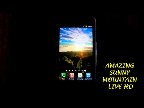 Amazing Sunny Mountain Live HD