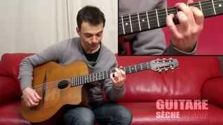 "Gypsy guitar lesson ""honeysuckle rose"""