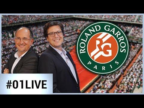 01LIVE HEBDO #145 : les coulisses high-tech de Roland Garros