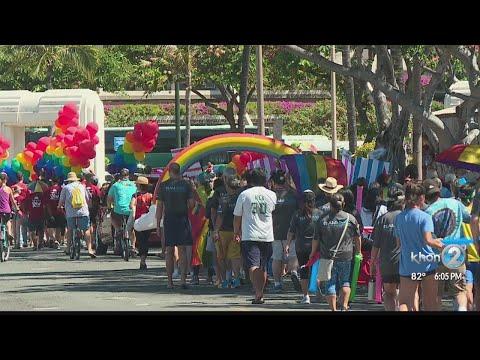 Thousands attend Honolulu Pride Parade