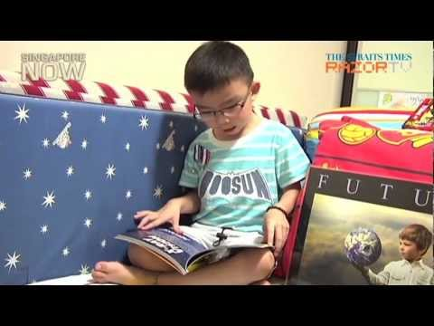 4-year-old with an IQ of 140