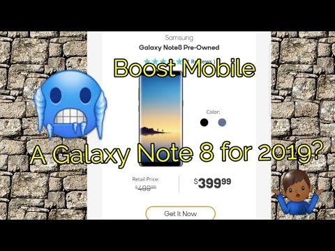 Boost Mobile Galaxy Note 8 Review