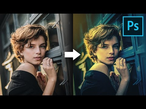 Simple Ways To Color Grade Like A Pro In Photoshop!