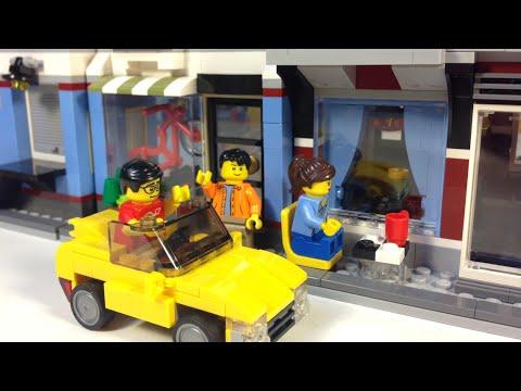 LEGO CREATOR 31026 Bike Shop & Cafe Review
