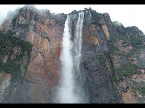 Angel falls  Venezuela The highest waterfall  in the