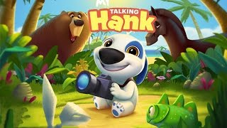 My Talking Hank Android GamePlay (By Outfit7)
