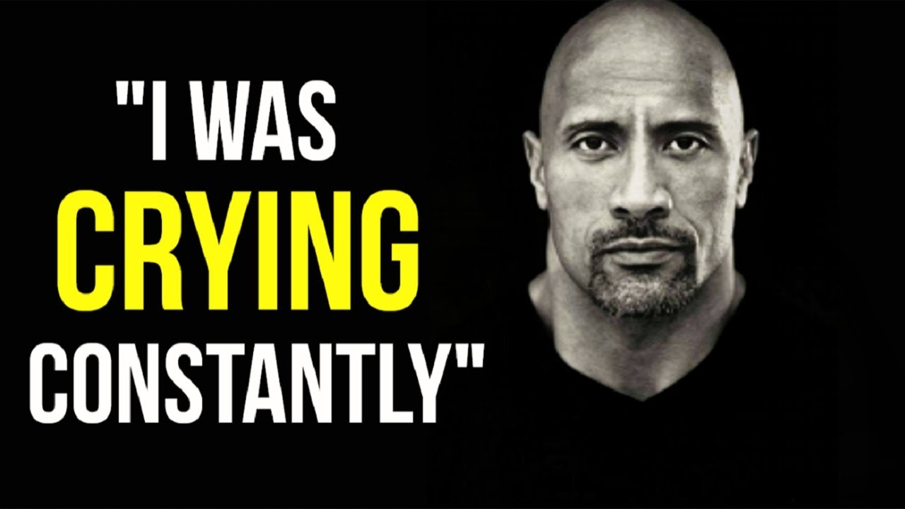 Motivational Success Story Of Dwayne 'The Rock' Johnson - From Depressed And Homeless To World Icon