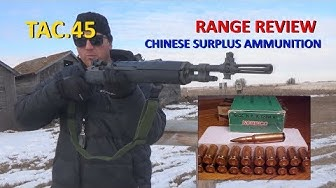 NORINCO .308/ 7.62mmx51mm CHINESE AMMO REVIEW