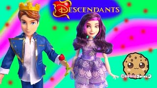 Disney Descendant Dolls Ben Son Of Beauty And The Beast & Mal Daughter Of Maleficent Unboxing