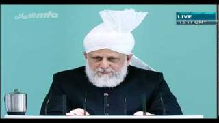 (German) Friday Sermon 22 Oktober 2010 German Part 5/5
