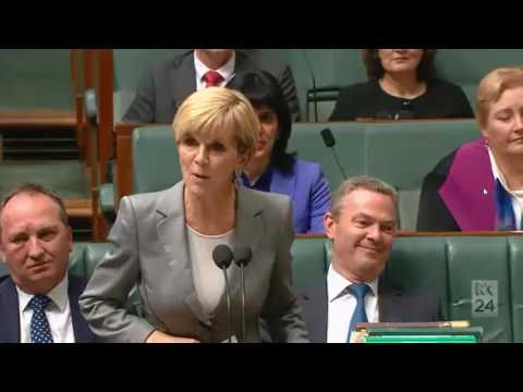 Julie Bishop confirms she accepted sponsored travel from Huawei