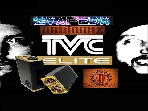 BRAINBOX V2 MECHANICAL BOX MOD By Brainbox Concept Review On TVC Elite