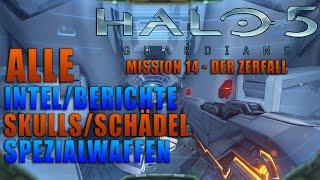 HALO 5 - Alle Berichte , Schädel & Spezialwaffen - Mission 14 - Der Zerfall