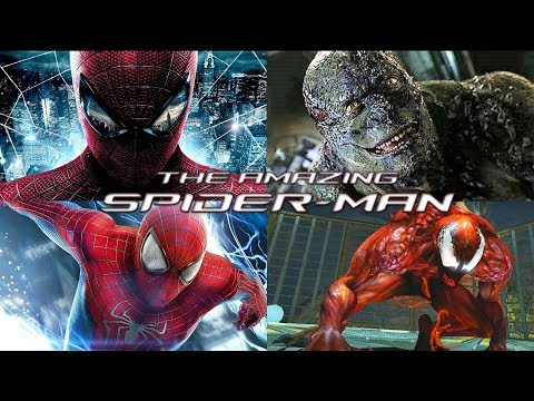 ALL FINAL BOSSES - The Amazing Spider-Man Games (2012 - 2014)