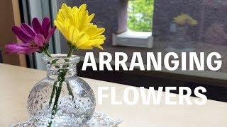 小さな子どもが花瓶に花を生けて飾ることができたら、なんて素敵でしょ...