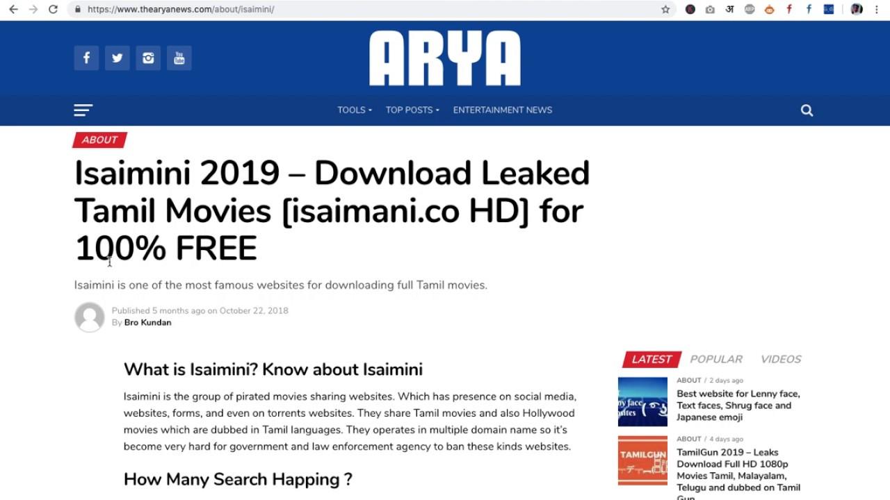🏷 2019 tamil movies download tamilrockers isaimini | Tamilrockers