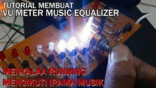 Vu Meter Music - Led Visual Equalizer Music With Transistor